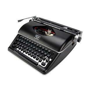 Royal Classic Manual Typewriter - Black